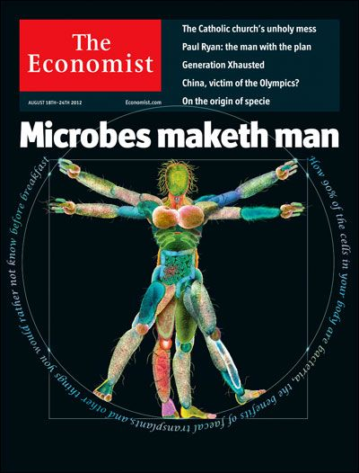 People are not just people. they are an awful lot of microbes, too