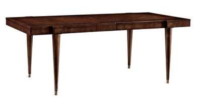 Brand Councill Furniture Dylan Dining Table Walnut Veneer On Top