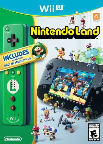 Black Friday 2014 Nintendo Land with Luigi Wii Remote Plus Controller ...