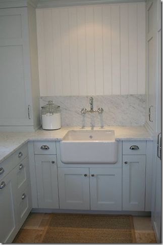 Best Faucet For Laundry Room Sink : laundry room, sink in corner (one day) shelf on top to cover window