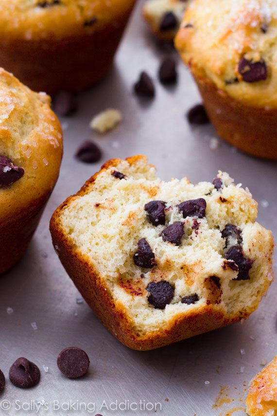 Bakery-Style Chocolate Chip Muffins | Recipe