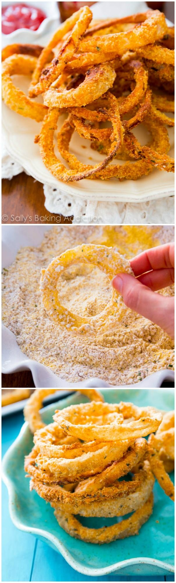 How I make Crispy Onion Rings - crispy on the outside, tender on the ...