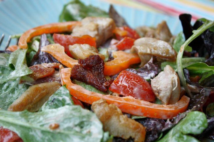 Paleo Warm Chicken BLT Salad | Recipe