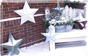 Cute Outdoor Bench Decor Christmas Pinterest