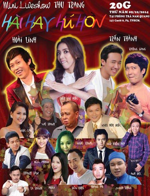Hài Tết 2015 : Liveshow Mini Thu Trang - HD