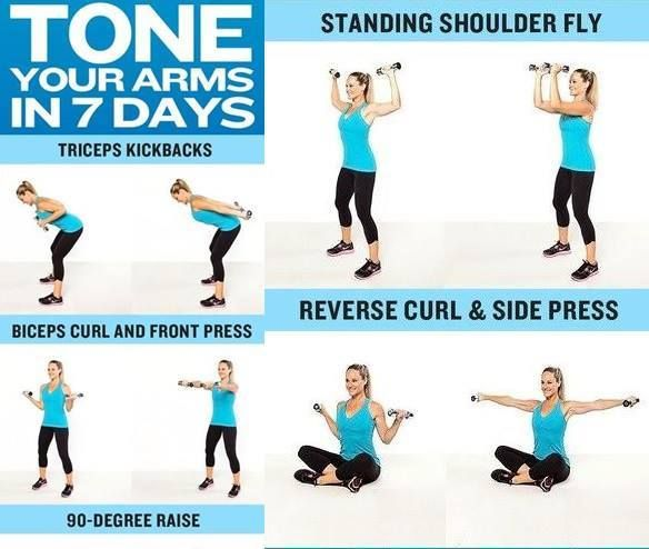 Exercises to shape arms