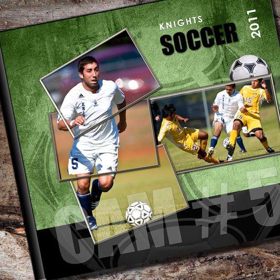 Custom Soccer Photo Album / or Scrapbook by AlbumOptions on Etsy, $55.95