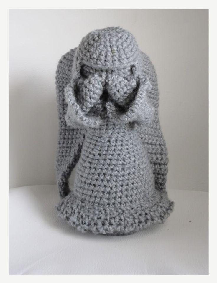 Weeping angel crochet pattern free dancox for doctorwho weeping angel crochet stuff pinterest dt1010fo