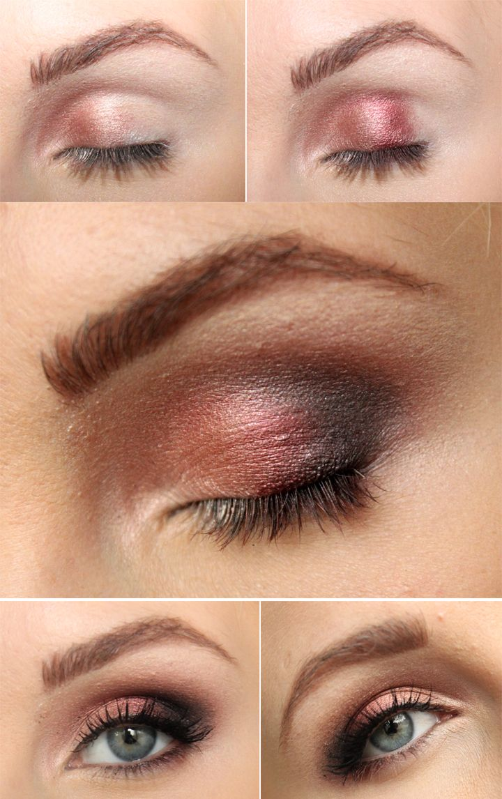 A nice tutorial that suits green eyes!
