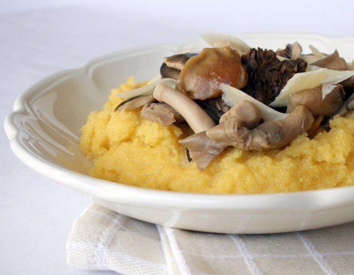Creamy Polenta. Wild Mushrooms. | Hey Food. Don't Make It Bad. | Pin ...