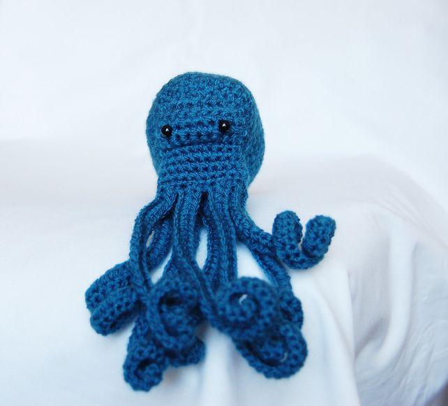 Amigurumi Octopus Crochet Sea Creature