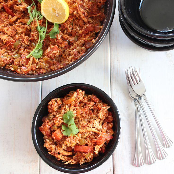 Spicy Chicken Chorizo Paella | In the Kitchen | Pinterest