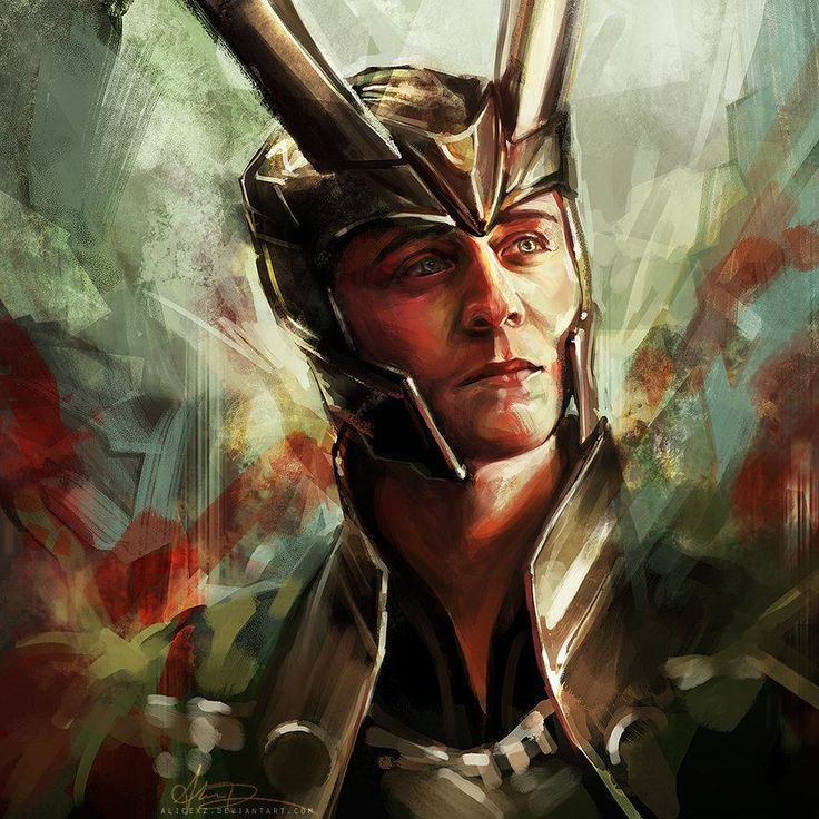 Norse God of Mischief. Oh, Loki.