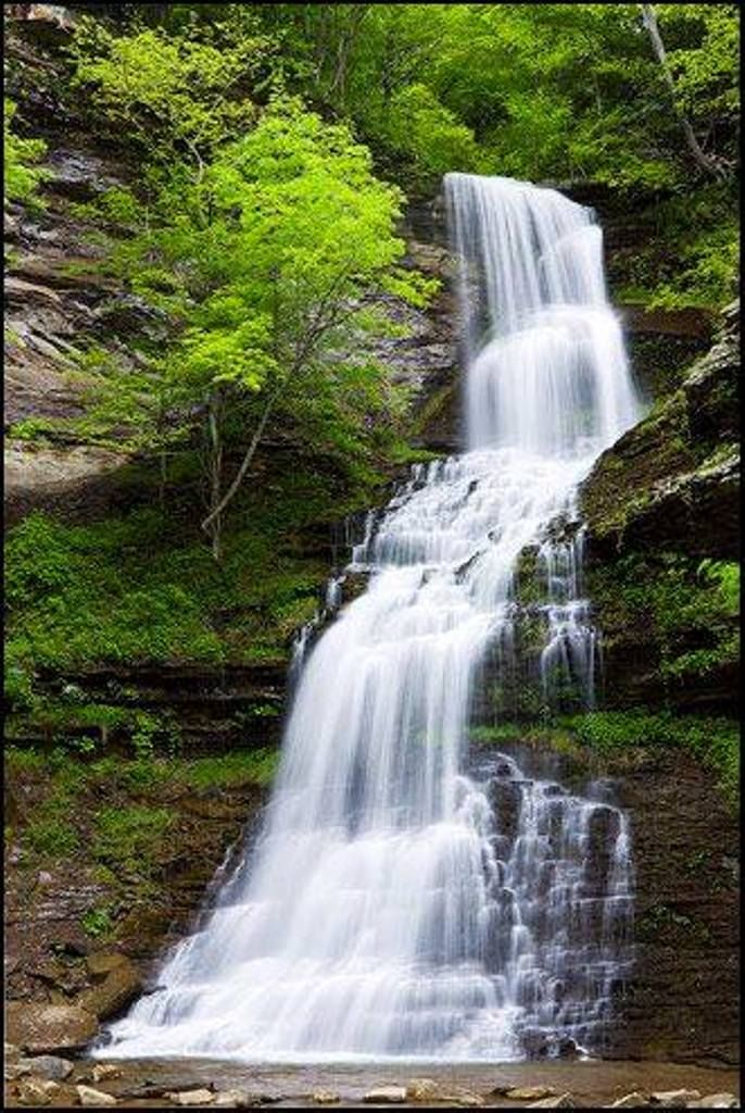 Cathedral Falls In Spring West Virginia Beautiful Places Around Th