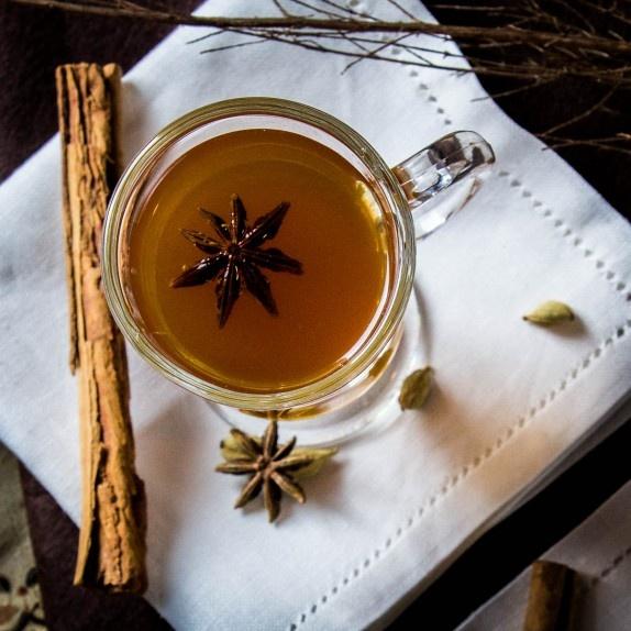 Spiced lemon & bourbon hot toddy. | Liquid Lovelies | Pinterest