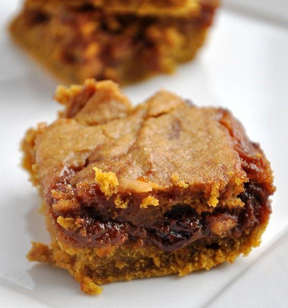Pumpkin Blondies | Baking | Pinterest