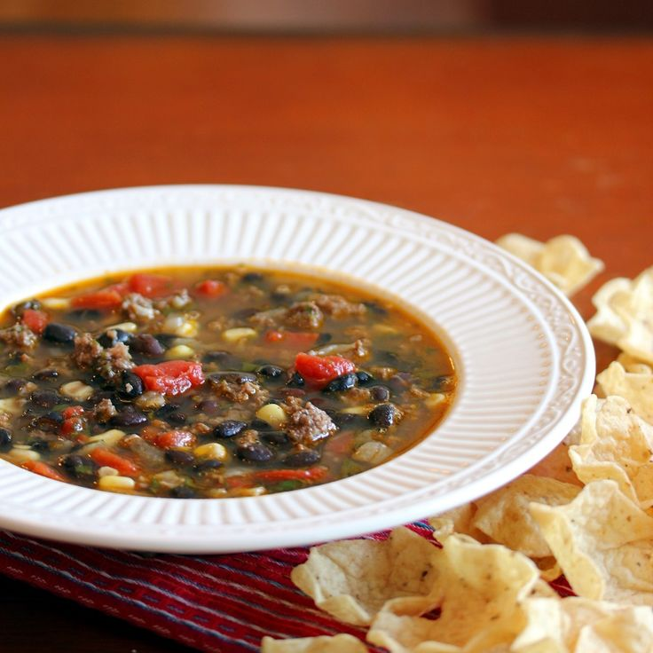 Southwestern Soup | Soups | Pinterest