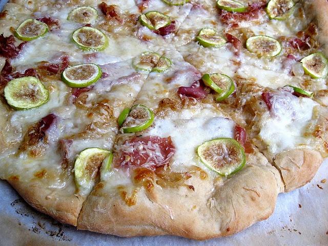 fig prosciutto pizza with arugula prosciutto and arugula pizza pizza ...