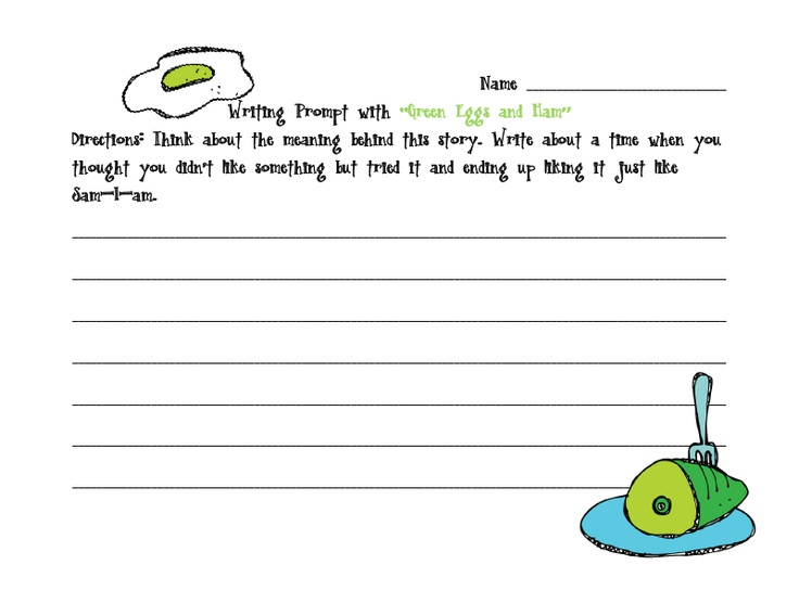 dr seuss writing prompts Here are 2 different march, writing prompt craftivities, perfect go-alongs with seuss's oh the places you'll go book on the large bucket, students think of 5.