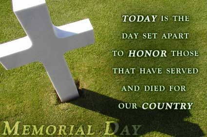 Today  Day Set  Honor  Served  Country Memorial