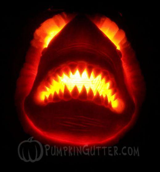 Photos of amazing unique pumpkin carving designs