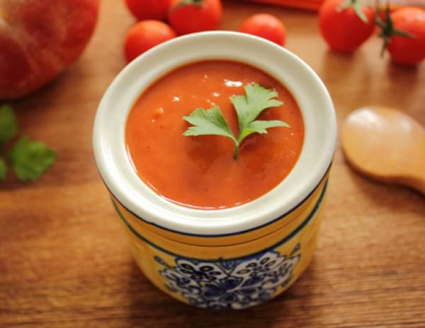 Smoky Tomato Soup | KitchenDaily.com