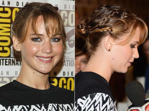Quick Hairstyles For Short Hair In The Morning : ... braided updo p s it s easy enough to do in the morning before school