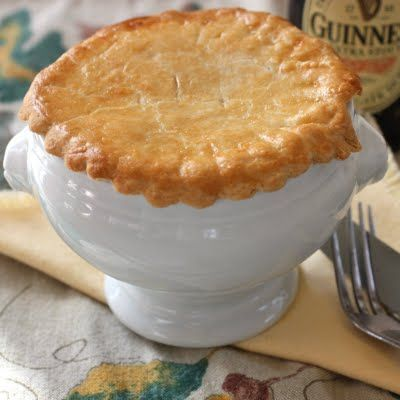 Steak and Guinness Pie | 365 Recipes | Pinterest