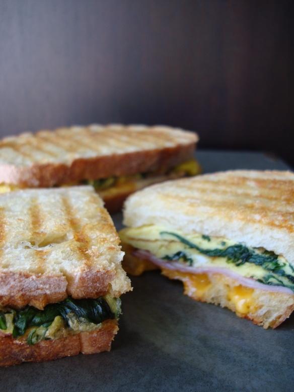 breakfast panini | Breakfast | Pinterest