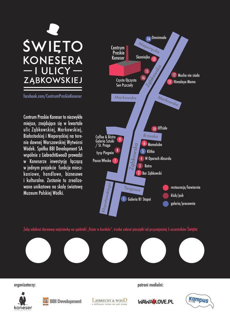 Święto konesera - mapa wydarzeń