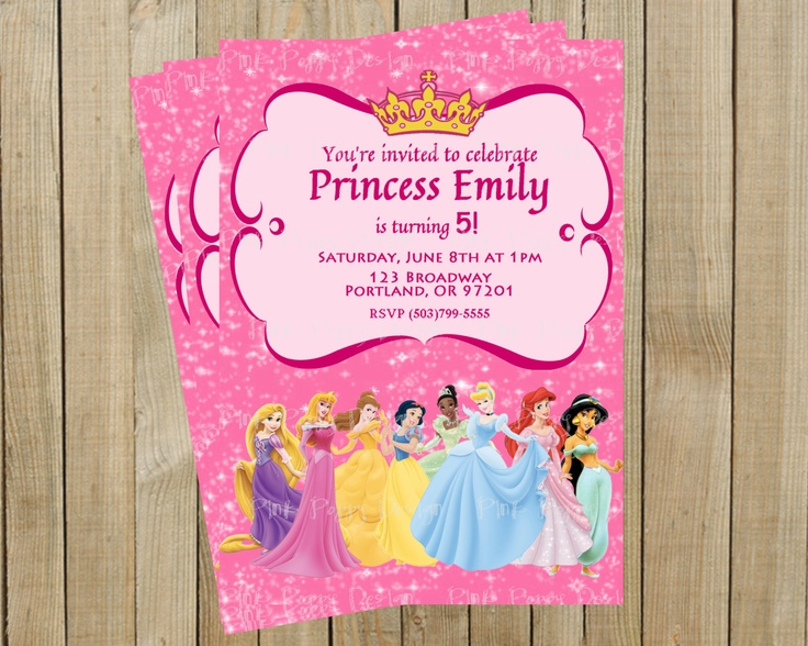 Birthday Princess Invitations is nice invitations example