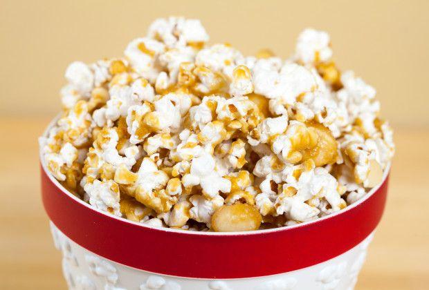 Macadamia Butter Crunch Popcorn