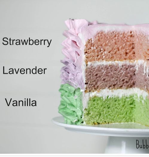 How to make a ruffled buttercream rainbow cake