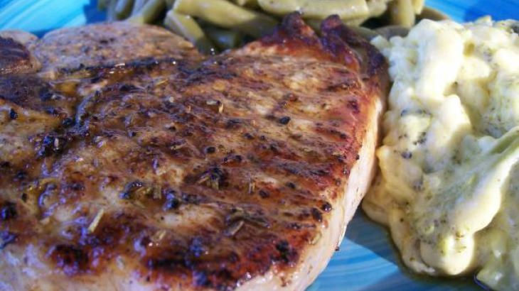 Sage and Rosemary Pork Chops   Main Dishes   Pinterest