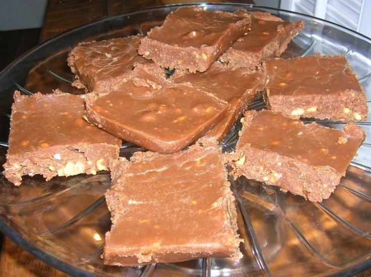 Easy Peanut Butter Fudge | Candy | Pinterest