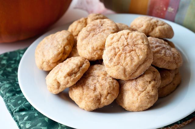 pumpkin snickerdoodles - since the other link no longer works! Gotta ...