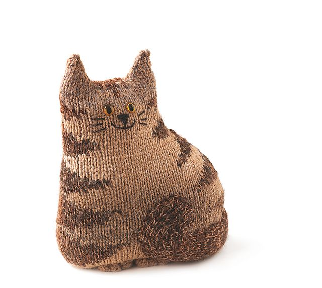 Free Crochet Cat Doorstop Patterns : Doorstop Cat pattern by Sue Stratford yarn. etc. Pinterest