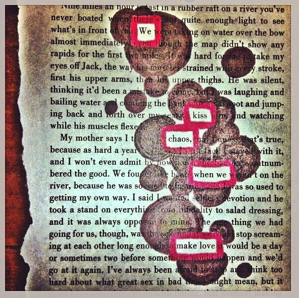 Blackout Poetry Quotes Lyrics