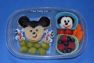 Mickey mouse bento | Food, Family, Fun lunches | Pinterest