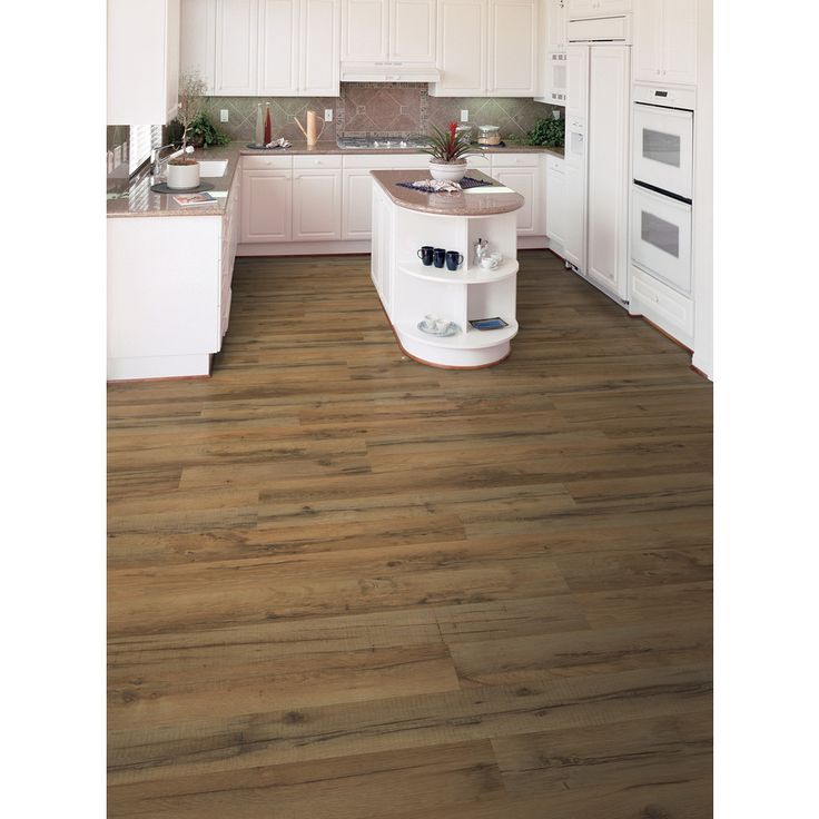 Style Selections 7.6-in W x 4.23-ft L Tavern Oak Embossed Laminate