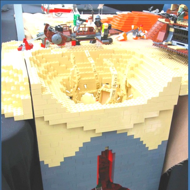 Lego Sarlacc pit! | In a Lego Bucket (for Will) | Pinterest