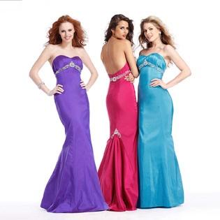Clarisse Mermiad Strapless Prom Dress - Sears