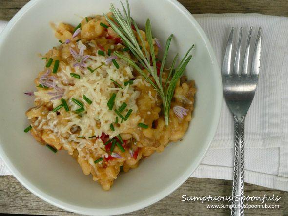Curry Saffron Wild Mushroom Risotto