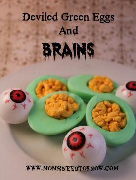 halloween recipes eggs
