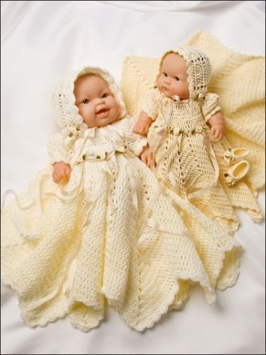 Crochet Pattern Baby Doll Clothes : Crochet Pattern LOTS LOVE Baby 8 10 & 12