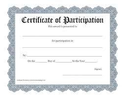 Certificate of Participation | Piano Recitals | Pinterest