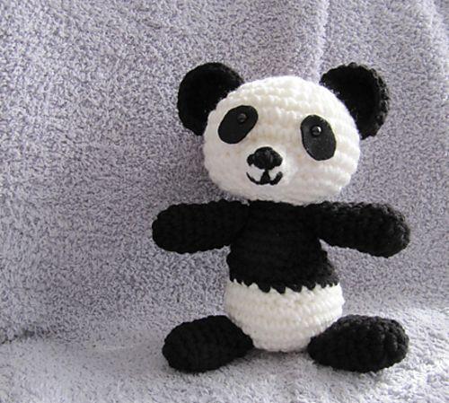 Amigurumi Panda Bear Pattern : Panda Bear Amigurumi ~ free pattern Dr. Doolittle and ...
