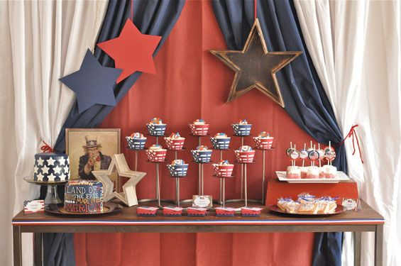 fourth of july table centerpieces