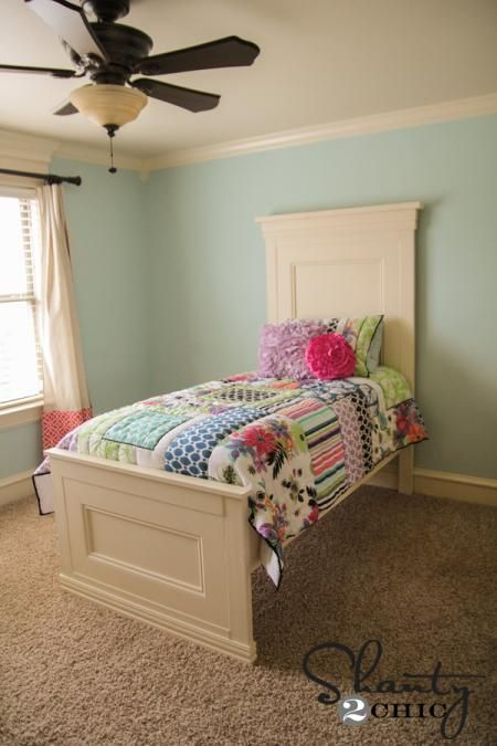 Best Twin Panel Bed Plans Here At Ana White Build It Pinterest 640 x 480