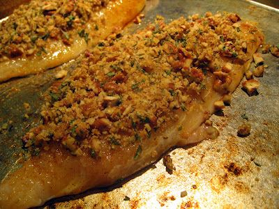 Cajun Pecan-Crusted Catfish | Yummy Things | Pinterest